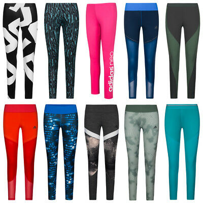 adidas Tight Damen Logo Fitness Tights Hose Sport Laufhose Training Leggings neu