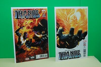 Thanos (Marvel) #11A 2017 NM+ Unread BX6