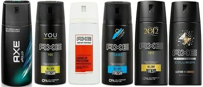 Axe Deo Deodorant Deospray 6er Pack - You / Apollo / 2012 / Collision und andere