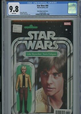 Star Wars #40 Action Figure Variant Cover CGC 9.8