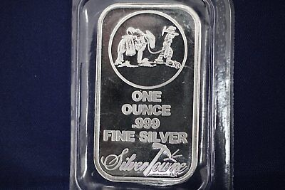 SilverTowne Prospector 1 oz .999 Silver Bar - Sealed
