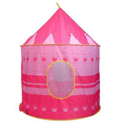 Portable Foldable Outdoor Play Tent Children Kids Castle Cubby Toy House Pink US  sc 1 st  PicClick & RED FLOOR Circus Tent Indoor Children Play House Outdoor Kids ...