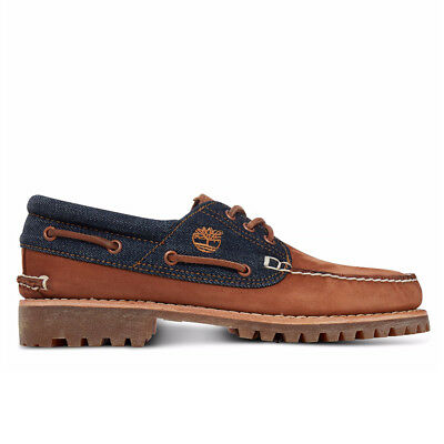 Timberland Men's Authentic 3 Eye Classic Loafer