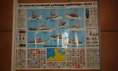 Seltenes DGzRS Poster