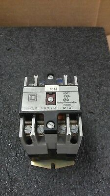 SQUARE D 8501X000 Industrial Control Relay with 8501 Type X Relay