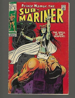 Sub Mariner #9 The Spell Of The Serpent
