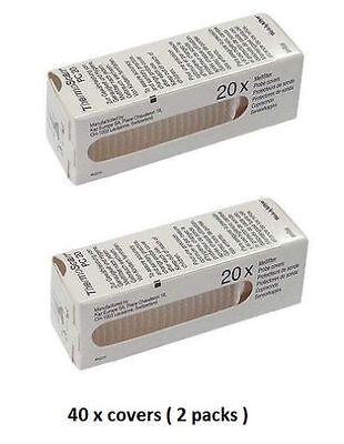 Neuf Braun Pack Of 40 Housses pour Oreille Thermoscan Thermomètre Lentille