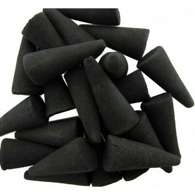 "Incense Charcoal Cones 1"" Handmade 50 pk You Pick Scent"