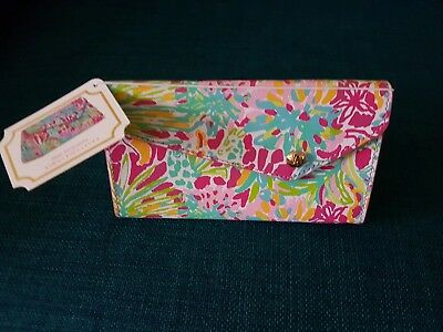 Lilly Pulitzer Spot Ya Sunglass Case New With Tags Foldable