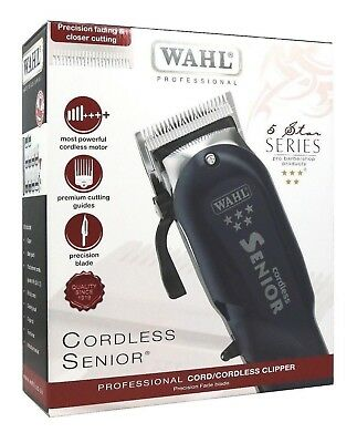 WAHL PROFESSIONAL-5-STAR-SENIOR CORDLESS HAIR-CLIPPER UK Mens Clipper WAHL-PRO
