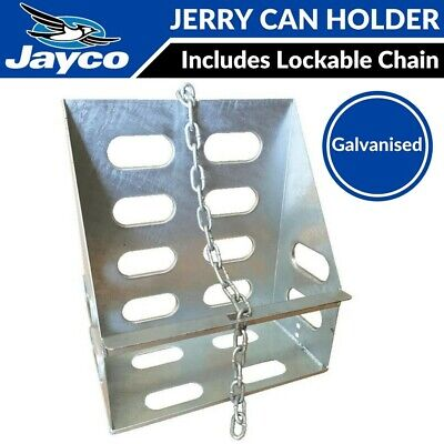 Jayco Jerry Can Holder Lockable for Caravan, Camper Trailer, Expanda, Pop Top RV