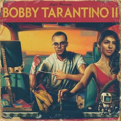 "Logic Bobby Tarantino 2 Poster Hip Hop Music Album Rap Cover 12x12"" 24x24"" 32x32"