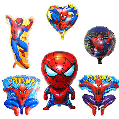 80 cm Cartoon Spiderman Folie Heliumballon Kind Kinder Geburtstag Party Supplies