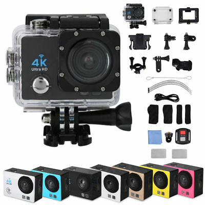 Ultra 4K Full HD 1080P Waterproof Sport Camera WiFi Action Camcorder for Go Pro