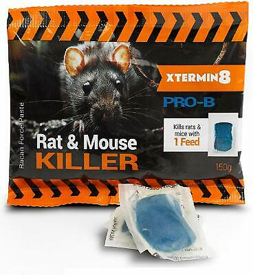 15 x 10g Ultra Strong Strength Mouse Rat Rodent Poison Blocks Bait Killer