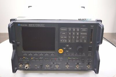 WAVETEK SCHLUMBERGER 4031D 1 GHz COMMUNICATION TEST SYSTEM (SERVICE MONITOR)