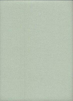 14 count Zweigart Sage Green Aida cross stitch fabric - fat quarter 49 x 54cms
