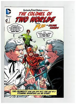 Colonel of Two Worlds #1 (9.0-VFNM) FLASH KFC PROMOTIONAL DC Comics (274777)