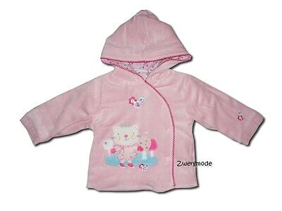 "ROCK a BYE BABY - ""Cat on Ice"" Kuscheljacke Jacke rosa Gr. 68/80 *NEU* England"