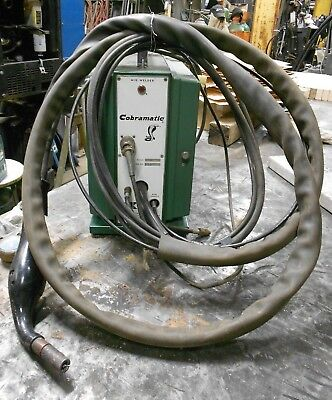 Cobramatic Portable Mig Welder Push Pull Wire Feeder Gun And Cables MK3A