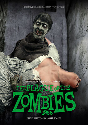 The Plague of the Zombies 1966 Andre Morell Hammer horror movie magazine
