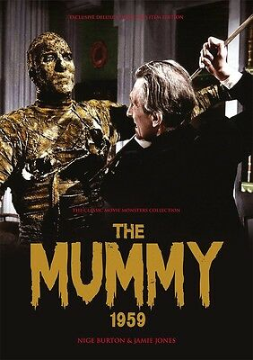 The Mummy 1959 Peter Cushing / Christopher Lee Hammer horror movie magazine