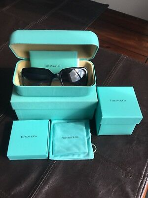 fab7806a7e51 Authentic TIFFANY   CO. Rectangular Sunglasses TF 4047B - 80553C With Free  Gifts