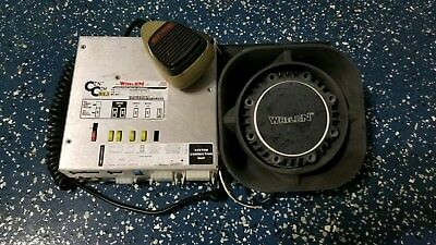 Whelen CenCom Gold with Speaker/SR and Mic