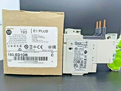 ALLEN BRADLEY 193-ED1DB Solid State Overload Relay 3.2-16A (3 Phase)