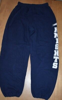Vintage KNIGHTS Sweat Pants Small Inseam 28 In college university high school