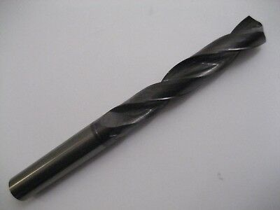 8.7mm CARBIDE 5 x D 2 FLUTED TiALN COATED GOLD DRILL 8083230870 EUROPA TOOL #P60