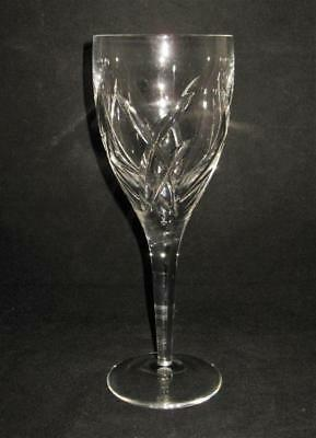 Waterford SIGNATURE John Rocha Cut Criss Cross Pattern, Red Wine Goblet or Glass