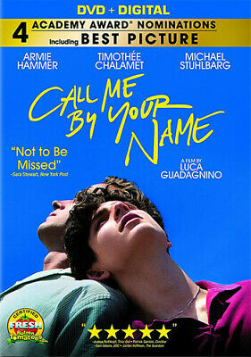 Call Me By Your Name (2018, DVD NEUF) (RÉGION 1)