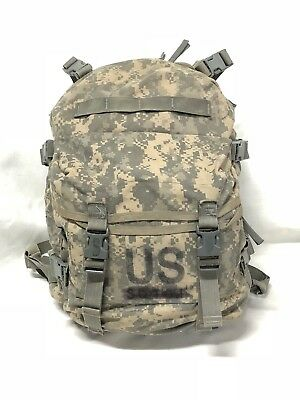 Us Army Molle Military Tactical Assault Pack Acu Digital Camo Backpack Vgc Ns