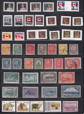 Canada (Mk1342)  Vf-Mnh   Various Mint And Used Issues
