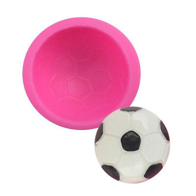 Novelty Football Mould silicone Mold Ball Soap Sugar Molds Cake Decoration kC