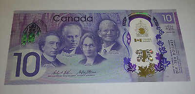 2017 Bank Note $10 Canada 150th Anniversary Commemorative Polymer (Uncirculated)
