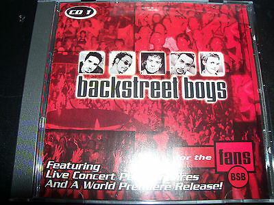 Backstreet Boys For The Fans CD # 1 (Feat Live & Rare Tracks) CD – Like New