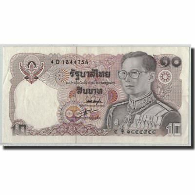 [#315319] Banknote, Thailand, 10 Baht, BE2523 (1980), KM:87, UNC(63)
