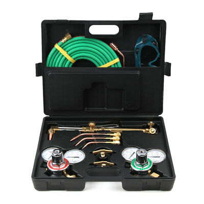 Portable Oxygen Acetylene Welding Cutting Kit Torch Brazing Soldering Oxy Kit