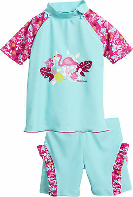 Playshoes protección UV Set de baño Flamingo Camiseta SHorts poliamida Oeko-Tex