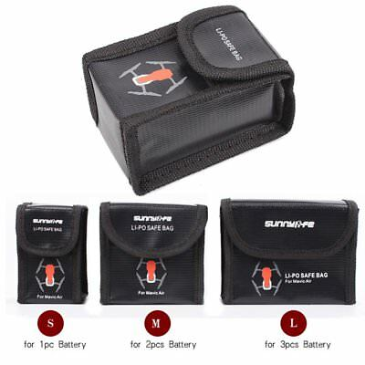 New Explosion-Proof Storage Bag Battery LiPo Safe Bag For DJI Mavic Air Drone