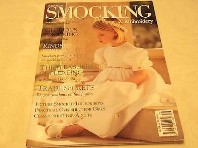 Australian Smocking & Embroidery Issue No. 56 great projects to make