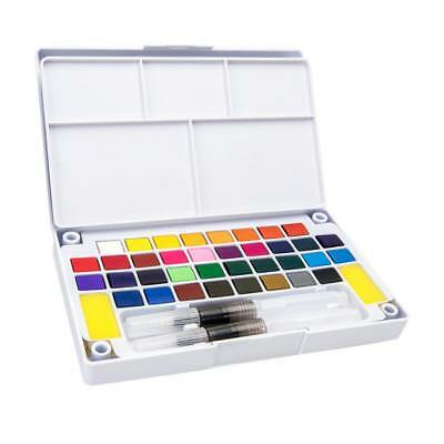 24 Colors Watercolor Paints Set Watercolor Pan for Artist Painting Supplies