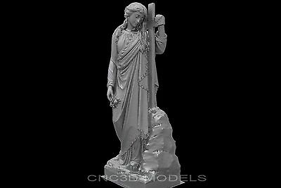 3D Model STL for CNC Router Engraver Carving Artcam Aspire Religion Cross 9072