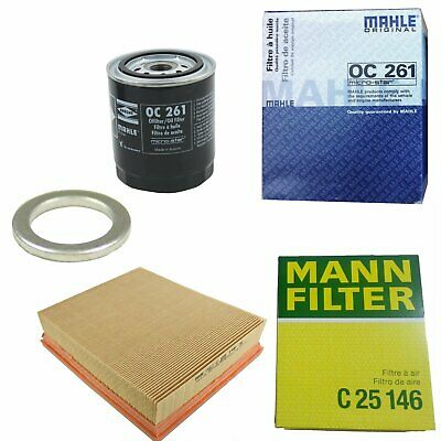 Filter Service Kit Oil Air Land Rover Discovery 2 4.0L V8 OEM Filters LFK07