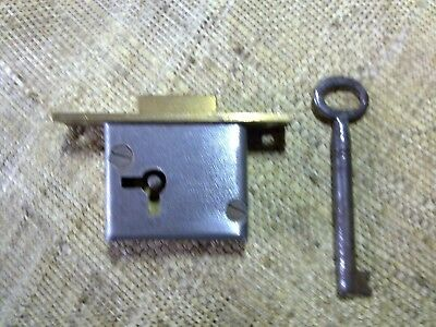 full mortice lock, square ends, 54 mm long, (NMK65)