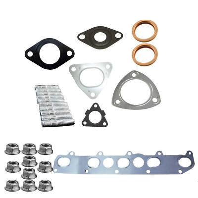 Land Rover TD5 Full Exhaust Manifold Gasket Stud & Nuts Kit Discovery 2 Defender