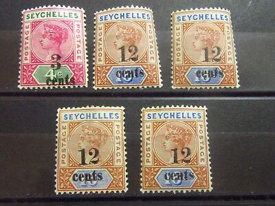 SEYCHELLES - British Colonies Old Stamps - Mint MNH - VF -r24e5330