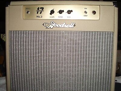 Goodsell Super 17 Mk II Hand Wired Boutique Guitar Amp